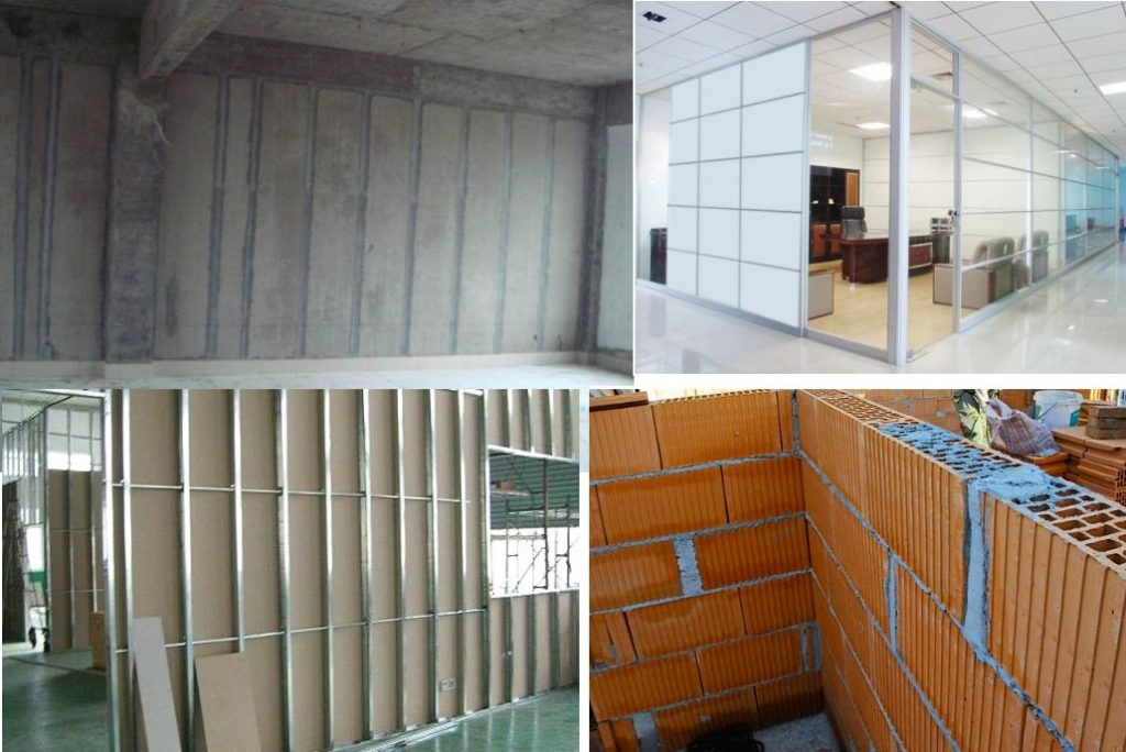 Basic questions to ask about gypsum partitions