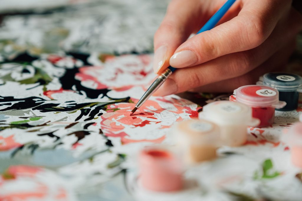 What is paining by numbers